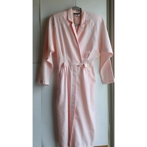 Vintage Rose Puffed Wrap Dress